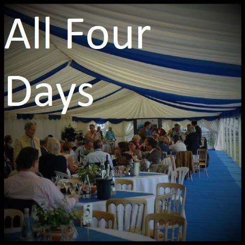 Equine Elite Grand Prix Hospitality - All Four Days.